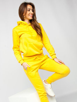 Women's Tracksuit Yellow Bolf 0002