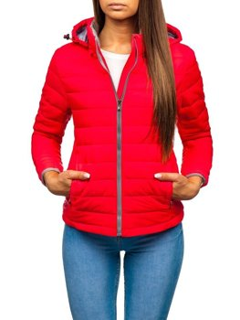 Women's Transitional Jacket Pink Bolf AB054