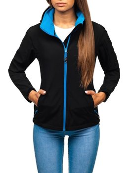 Women's Transitional Softshell Jacket Black Bolf AB056
