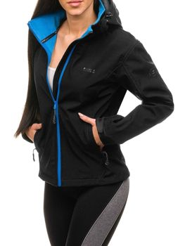 Women's Transitional Softshell Jacket Black Bolf B056