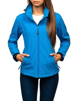 Women's Transitional Softshell Jacket Blue Bolf AB056