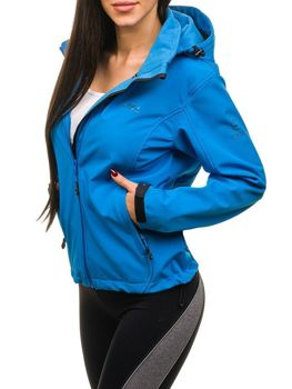Women's Transitional Softshell Jacket Blue Bolf B056