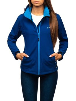 Women's Transitional Softshell Jacket Navy Blue Bolf AB056