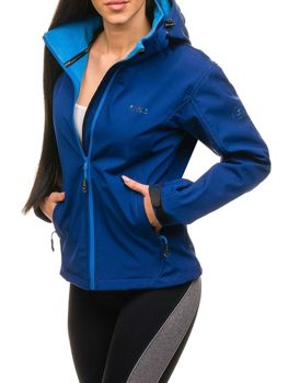 Women's Transitional Softshell Jacket Navy Blue Bolf B056