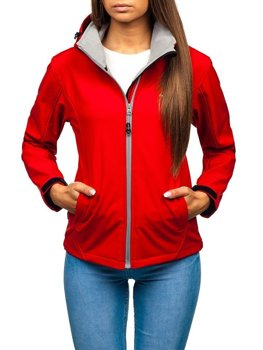 Women's Transitional Softshell Jacket Red Bolf AB056