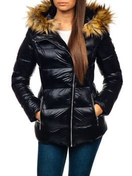 Women's Winter Jacket Black Bolf 18119