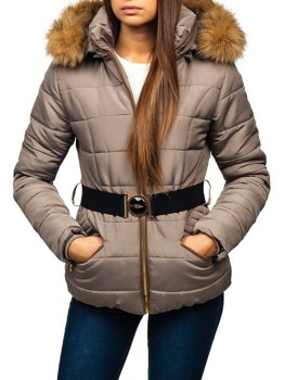 Women's Winter Jacket Grey Bolf 17