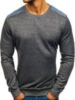 Anthracite Men's Sweatshirt Bolf 9037