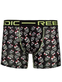 Black Men's Boxer Shorts Bolf X202