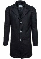 Black Men's Winter Coat Bolf 9011