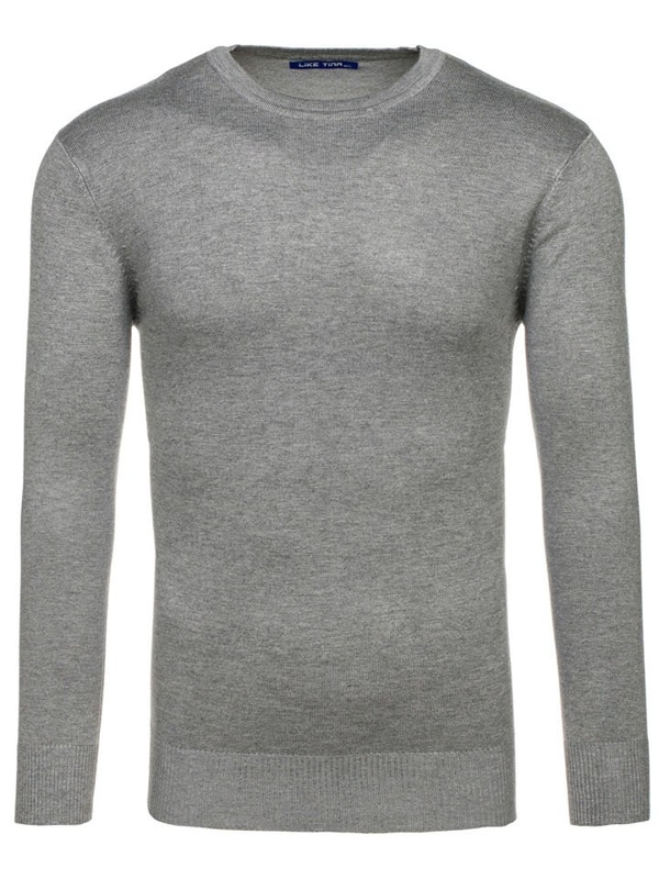Men's Classic Jumper Grey Bolf 005