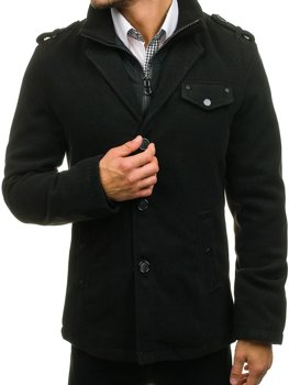 Men's Coat Black Bolf 8853A