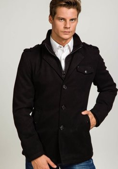 Men's Coat Black Bolf 8853B