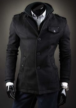Men's Coat Black Bolf 8853D