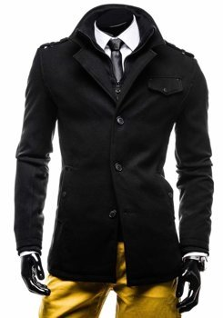 Men's Coat Black Bolf 8853E