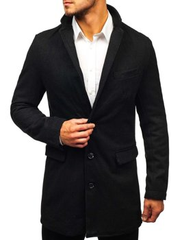 Men's Coat Black Bolf NZ01