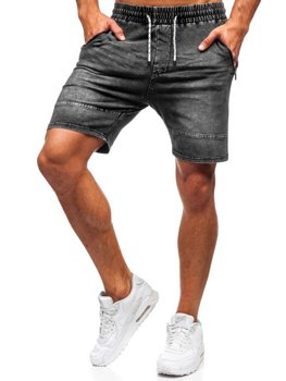 Men's Denim Shorts Graphite Bolf KK103