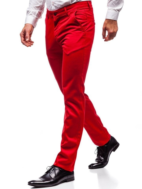 Men's Formal Trousers Red Bolf 3149
