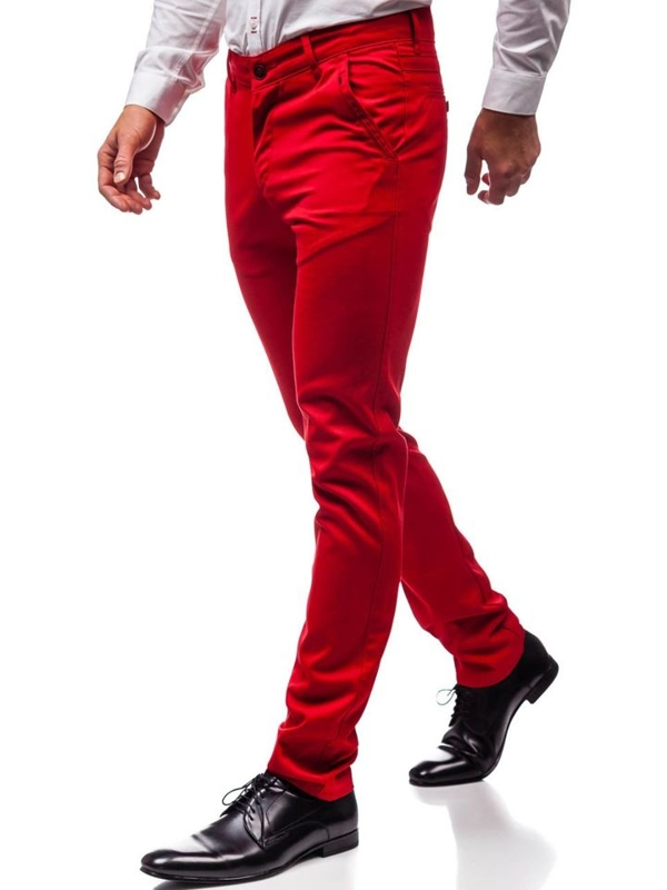 Men's Formal Trousers Red Bolf 3166