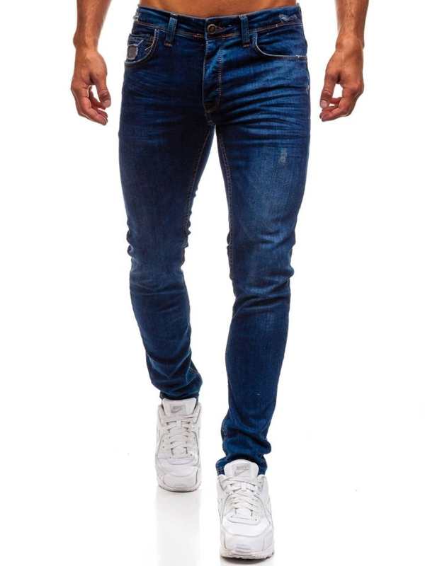 Men's Jeans Navy Blue Bolf 1193