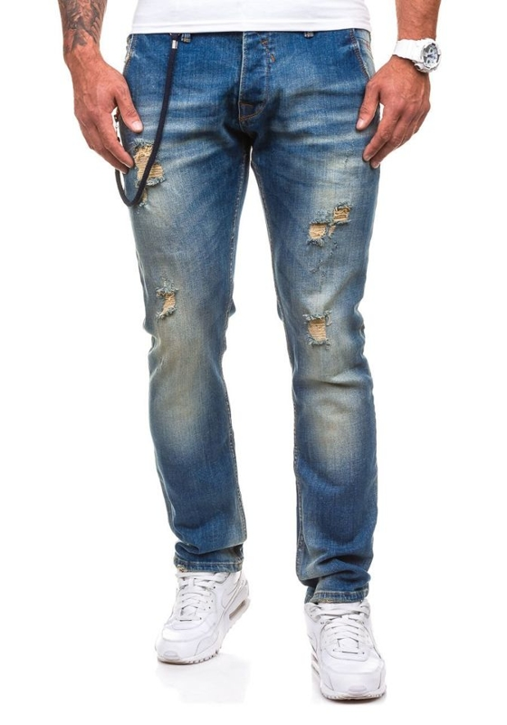 Men's Jeans Navy Blue Bolf 4730-2 (9970)