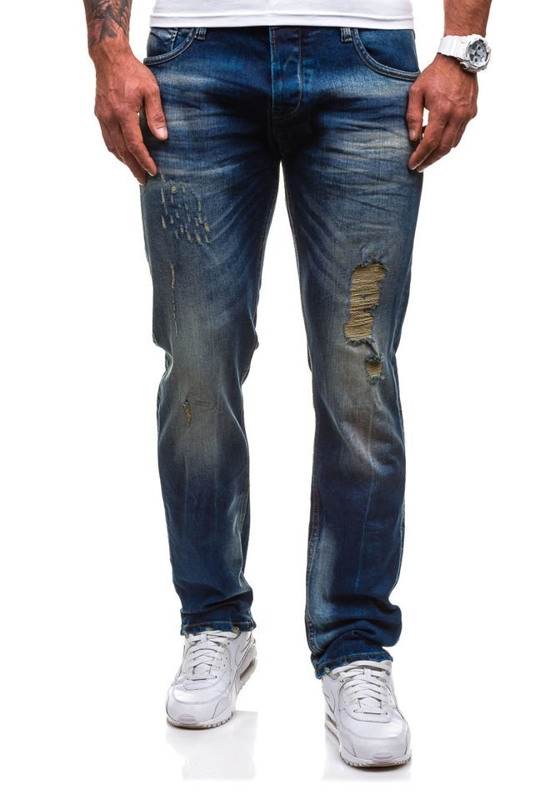 Men's Jeans Navy Blue Bolf 4748 (9840)