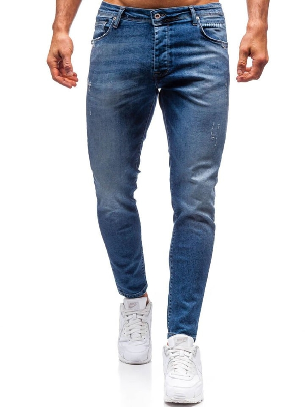 Men's Jeans Navy Blue Bolf 7158