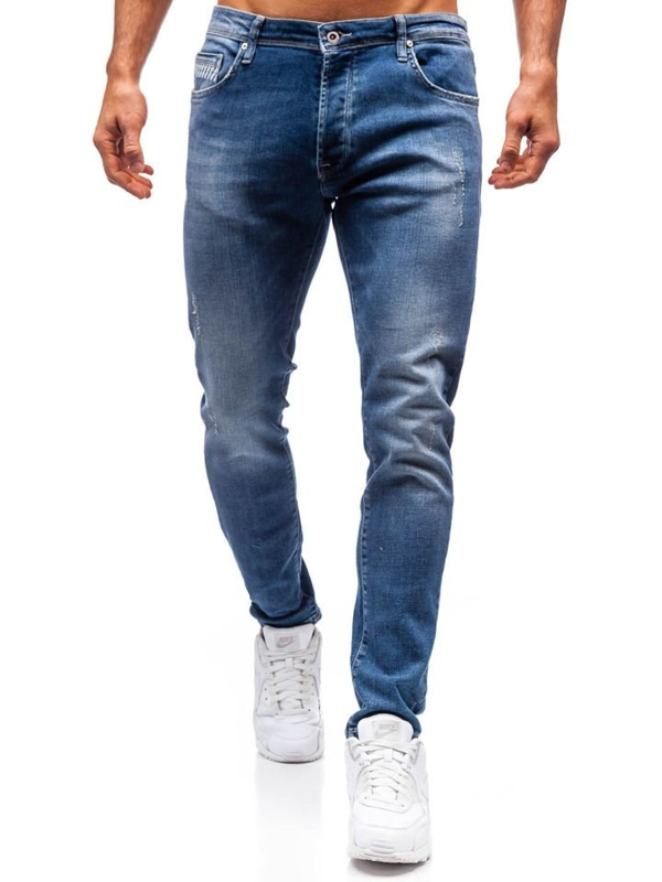 Men's Jeans Navy Blue Bolf 7161