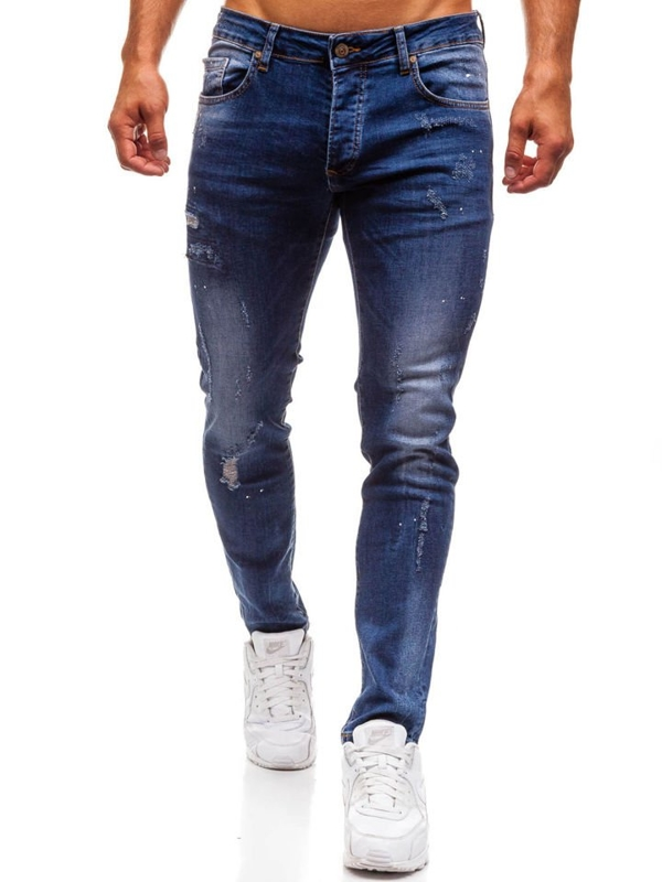 Men's Jeans Navy Blue Bolf 8023
