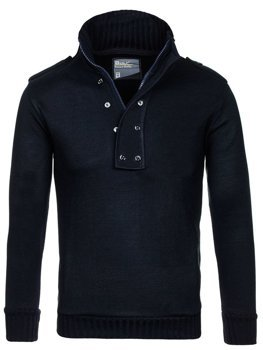 Men's Jumper Navy Blue Bolf 1132