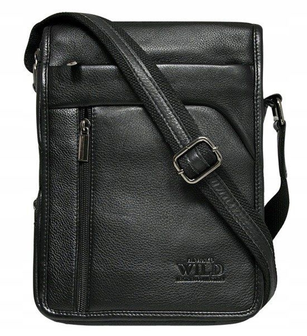 Men's Leather Bag Black 515