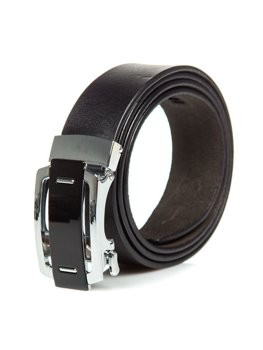 Men's Leather Belt Black Bolf P013