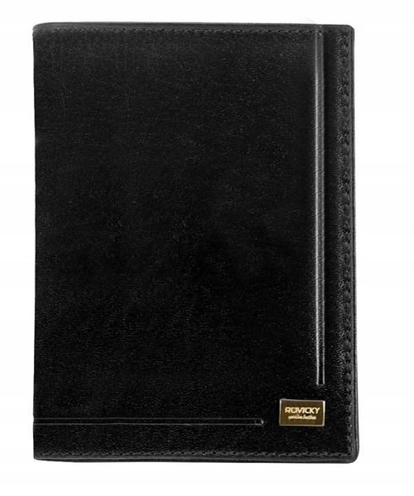 Men's Leather Wallet Black 144