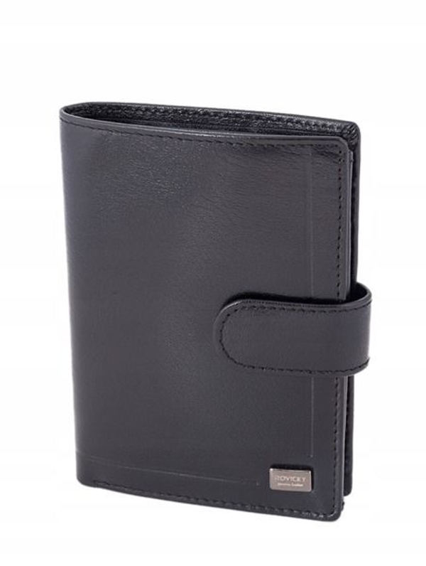 Men's Leather Wallet Black 240