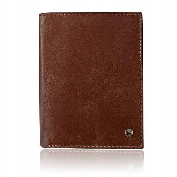Men's Leather Wallet Brown 922