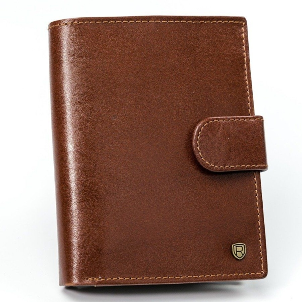 Men's Leather Wallet Brown 923