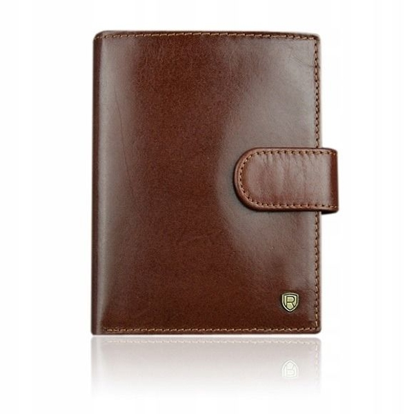 Men's Leather Wallet Brown 925