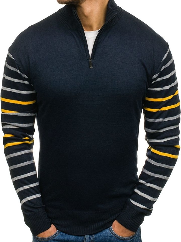 NAVY BLUE-YELLOW