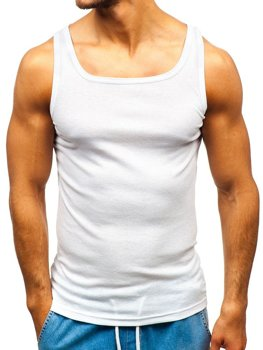 Men's Plain Top White Bolf C10049