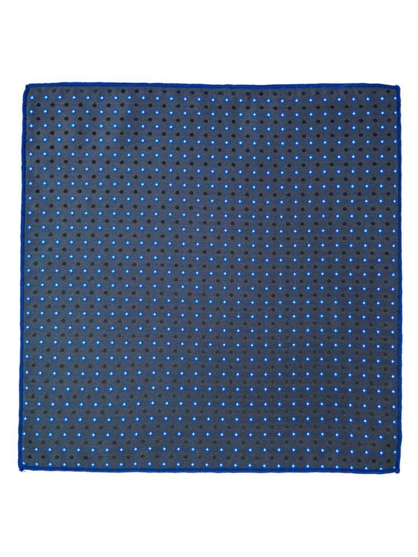 Men's Pocket Square Navy Blue Bolf PO01