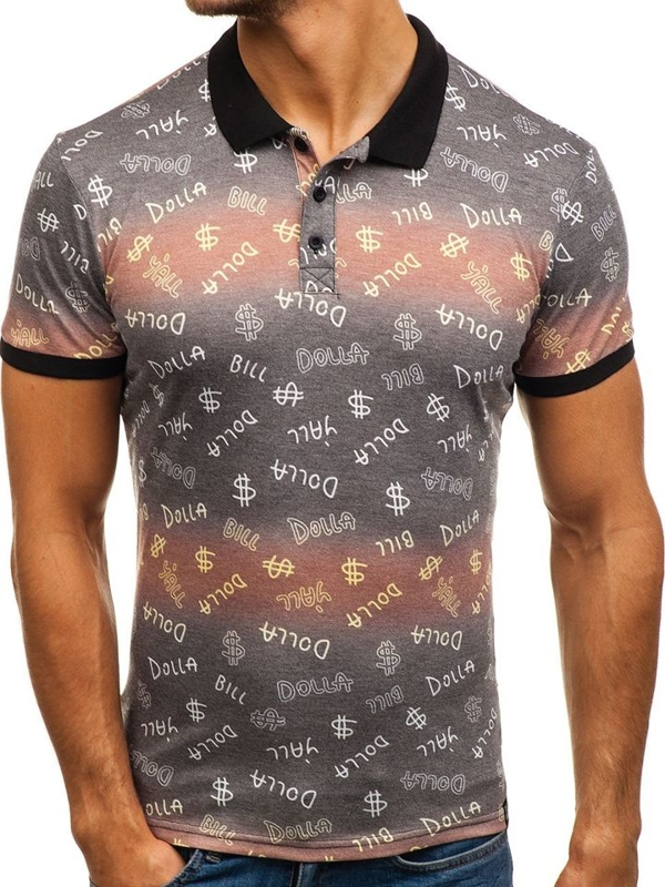 Men's Polo Shirt Multicolour Bolf 5006A