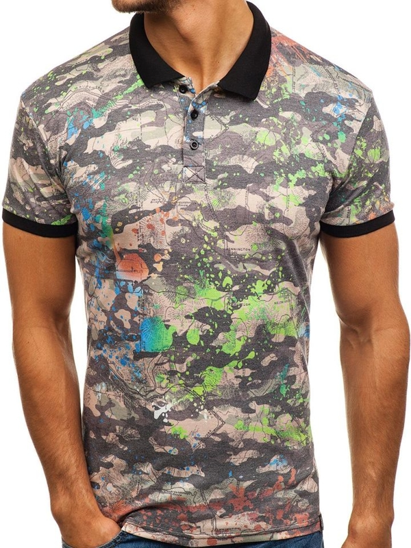 Men's Polo Shirt Multicolour Bolf 5009A