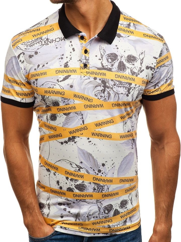 Men's Polo Shirt Multicolour Bolf 5010A