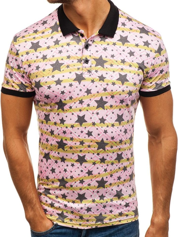 Men's Polo Shirt Multicolour Bolf 5012A