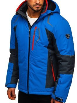 Men's Ski Jacket Blue Bolf BK085