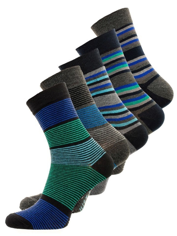 Men's Socks Multicolor Bolf X10026-5P 5 PACK