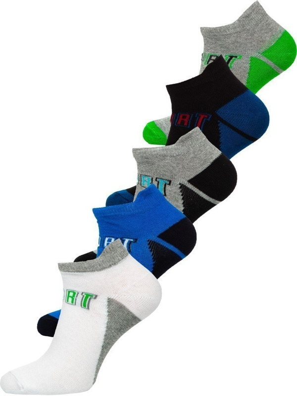 Men's Socks Multicolor Bolf X10033-5P 5 PACK