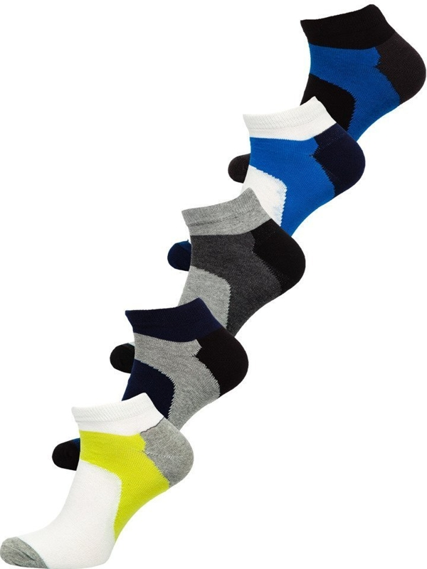 Men's Socks Multicolor Bolf X10059-5P 5 PACK