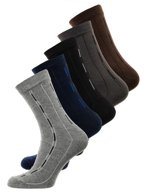 Men's Socks Multicolour Bolf X10072-5P 5 PACK