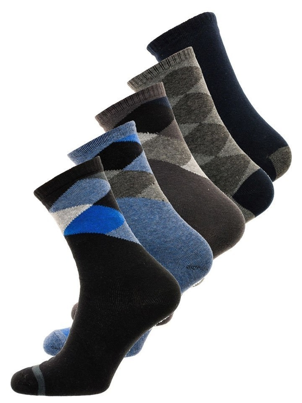 Men's Socks Multicolour Bolf X10074-5P 5 PACK